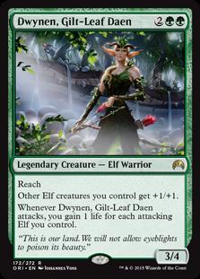 Dwynen, Gilt-Leaf Daen ORI