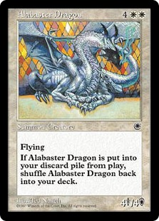 Alabaster Dragon POR