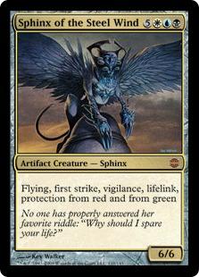 Sphinx of the Steel Wind ARB