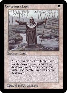 Consecrate Land LEA