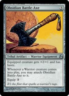 Obsidian Battle-Axe MOR