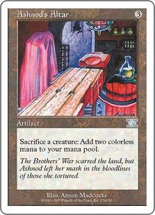 Ashnod's Altar 6ED