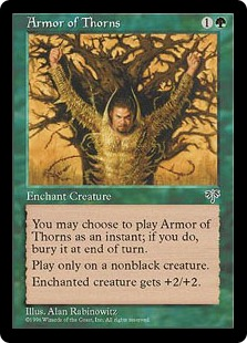Armor of Thorns MIR