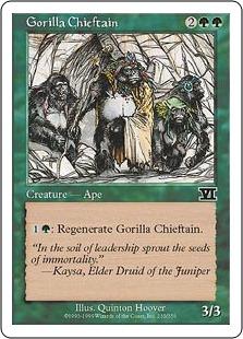 Gorilla chieftain 6E