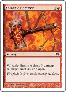 Volcanic hammer 9ED