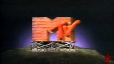 Various 80s MTV ID logos