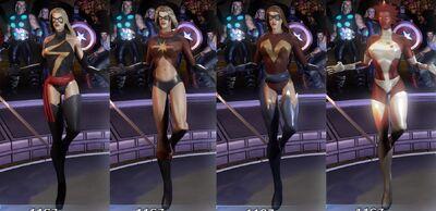 Ms Marvel MUA Costumes