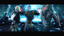 Shinnok VS Sonya n' Kage