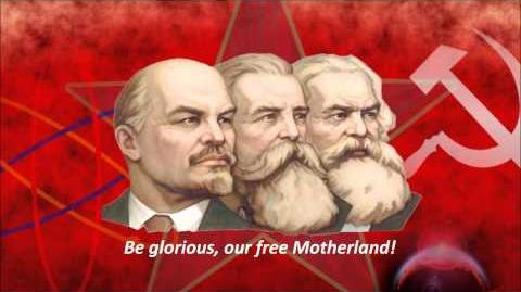 Red Army - Hymn of the USSR (Soviet Union) (English lyrics)