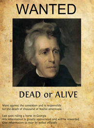 Wanted Andrew Jackson