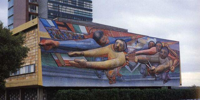 File:Siqueiros Mural en Ciudad Universitaria.jpg