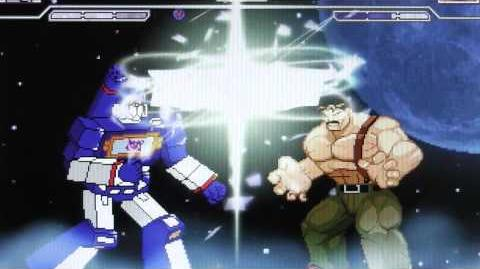 MUGEN - SOUNDWAVE VS HAGGAR