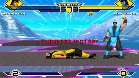 Scorpion vs Sub-Zero MUGEN Battle!!!