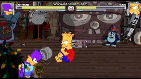 Mugen battles 6 Bartman(Me) Vs Hugo Simpson