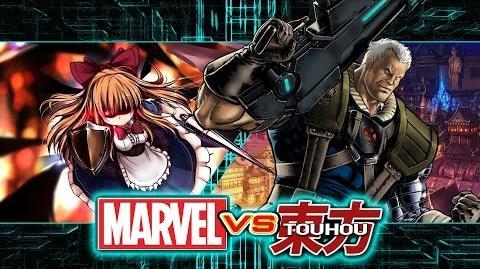 Random Mugen Fights Episode 41 Shanghai Doll vs. Cable (Marvel vs