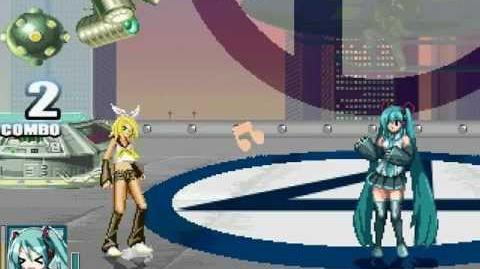 Miku Hatsune VS Rin Kagamine