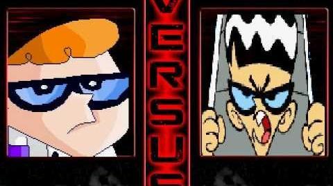 PM MUGEN dexter(me) vs Mandark
