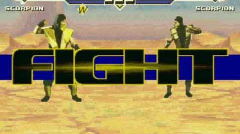 Mugo's Mugen Lord Sinistro's Scorpion VS Mike Orbecht's Scorpion
