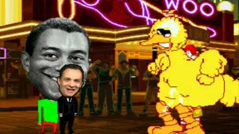 MUGEN Tom Hanks & Tiger Woods vs Big Bird & Ronald McDonald