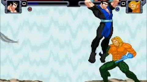 Mighty Mugen Fights Namor Vs Aquaman-0