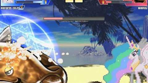 The MegaBrony MUGEN - Princess Celestia vs Namazu