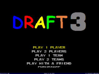Draft 3 Main Menu