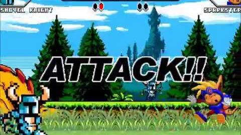 Genosan742 M.U.G.E.N. Shovel Knight me vs Sparkster