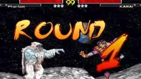 Mugen Battle 233 - Phantom VS Karai