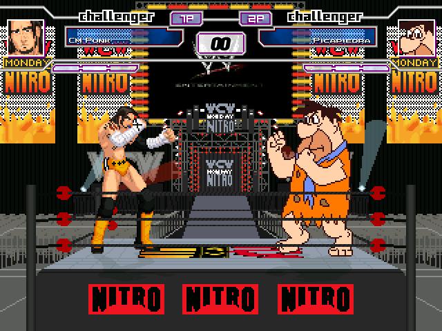 CM Punk vs Fred Flinstone
