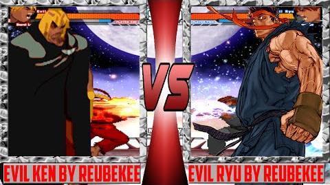 Mugen 1.1 HD Evil Ken (Reubenkee) vs