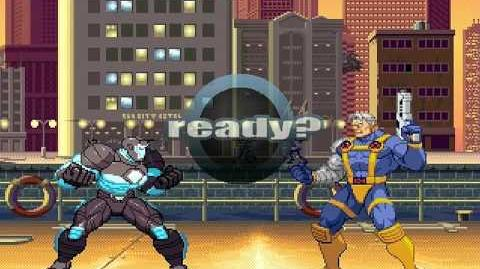 LA BATALLA MUGEN Warmachine VS Cable