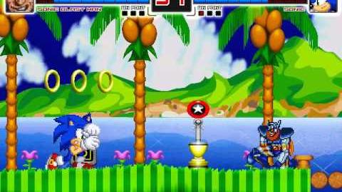 MUGEN Sonic Boom - Sonic Blast Man vs Sonic the Hedgehog