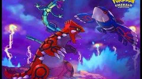 Pokemon R S E Remix Legendary Pokemon Battle