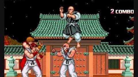 MUGEN Ryu and Ken Vs Gouken and Retsu