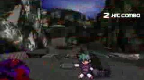 Mugen Showdown 007 Goldeneye Battle Magneto( me) Vs Megaman Voltnutt