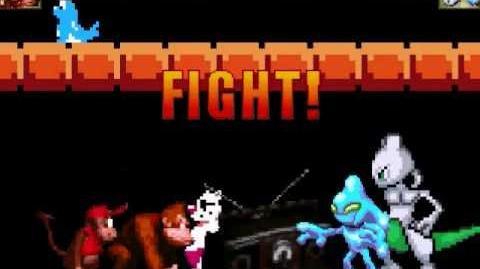 MUGEN Donkey Kong & Diddy Kong Vs