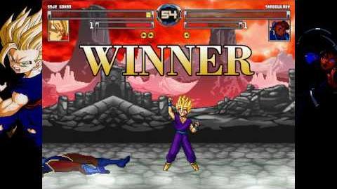 M.U.G.E.N - SSJ2 Son Gohan vs. Shadowlady a.k.a