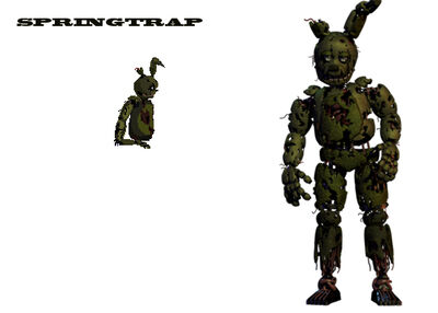 Springtrap First Look