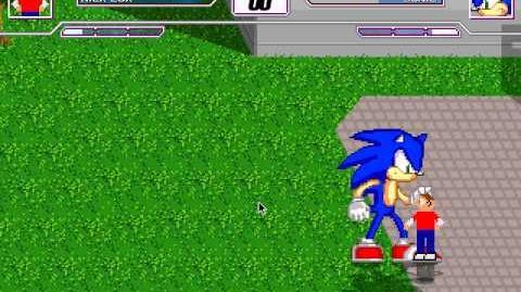 M.U.G.E.N. - Nick Cox (Sonic Variant) VS