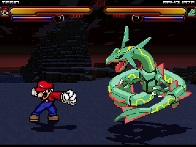 File:Mario vs Rayquaza.png