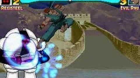 CM Mugen Registeel vs Evil Ryu