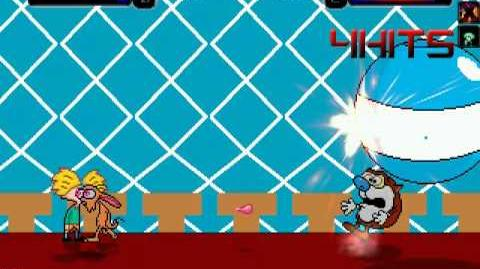 TheMattalocalypse Random Mugen Battle - 238 - Team Nicktoons VS