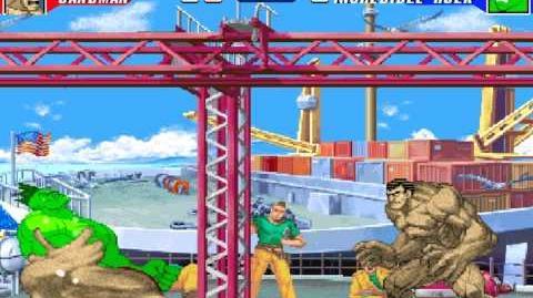 MUGEN Battle 0013 - The Sandman vs The Hulk