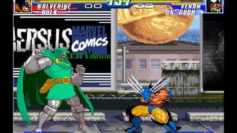 Mugen MvC3 Wolverine & Hulk(BOTH ME) Vs Dr