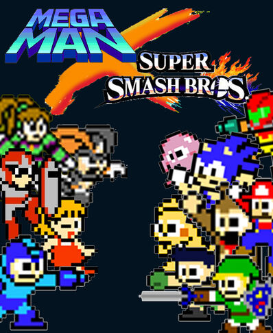 Mega-Man X Smash Bros