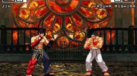MUGEN Eternal Rivals 6 - Jin vs Kazuya