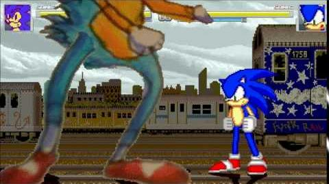 "Mugen - World Heroes 2 Sonic's ""OH GOD WHAT"" Attack"