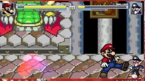 Mugen Super Mario vs Waluigi