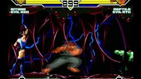 H's MUGEN All-Stars 7 Kitana and Evil Ken vs