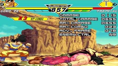 MUGEN Goku Z2 Combos